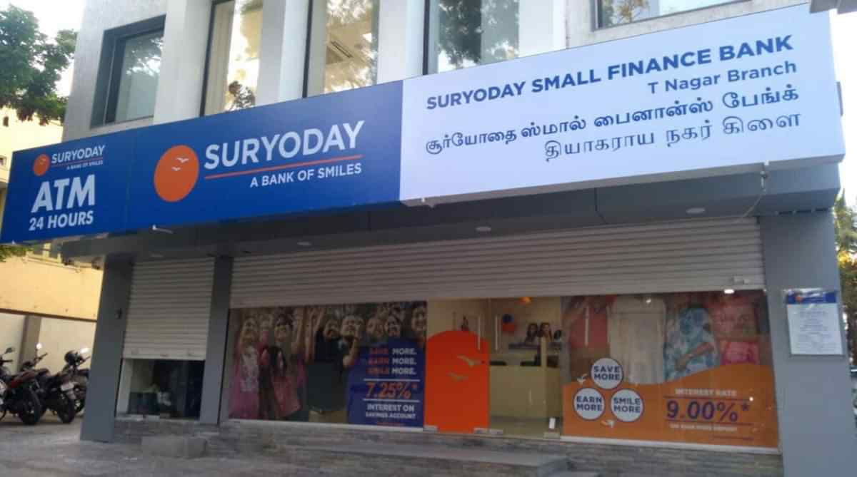 Suryoday Small Finance Bank raises funding from Gaja Capital, others -  Explorebit